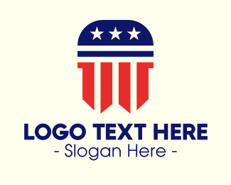 Courthouse - American Law Firm logo design
