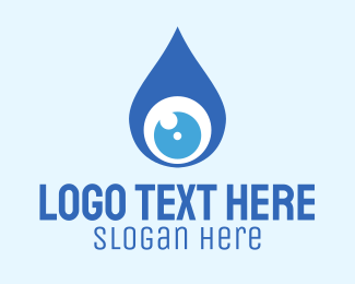 Blue Drop - Drop View logo design