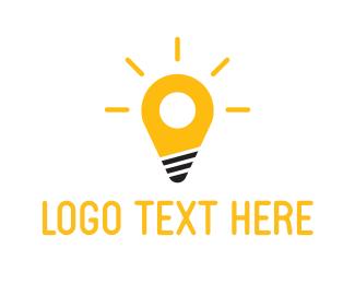 Place - Spot Light logo design