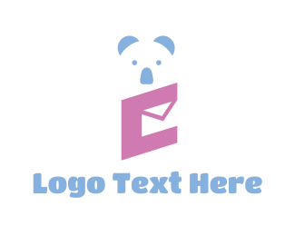 Message - Koala Messaging App logo design