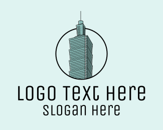 Taiwan - Taiwan Skyscraper  logo design
