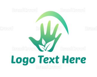 Environmental - Environmental Hand logo design