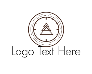 Woodwork - Wood Watch logo design