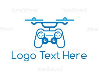 Drone Pilot - Controller Drone logo design