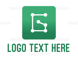 Letter G - Circuit Letter G logo design