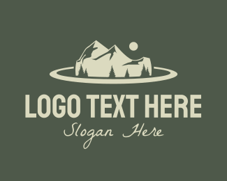 Road Trip - Mountain Road Trip logo design