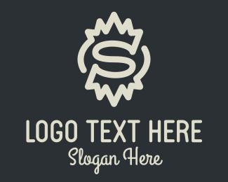 Letter S - Spiky Letter S logo design