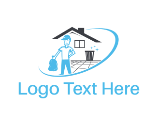 Trash - Clean House logo design