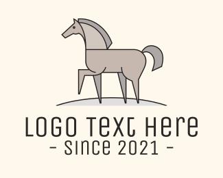 Horse - Walking Horse logo design