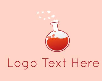 Drug Store - Love Potion logo design