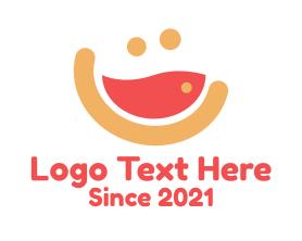 Nice - Happy Soup Diner logo design