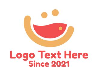 Diner - Happy Soup Diner logo design