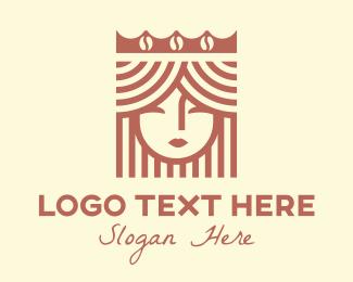 Coffee Store - Coffee Princess Cafe logo design