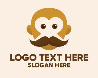 Trim - Old Mustache Barber logo design