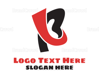 Doodle - Modern Monogram B logo design