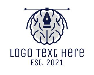 Brain - Creative Designer Brain logo design