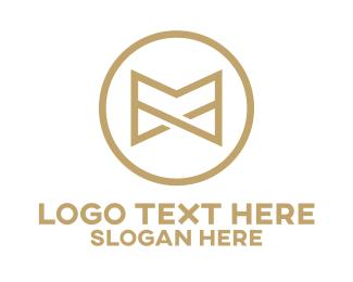 Luxurious - Luxurious Letter M logo design