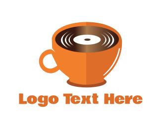 Music - Music & Coffee logo design