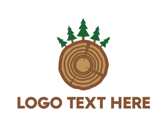 Pine - Pine Wood logo design