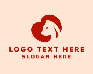 Heart - Animal Heart logo design