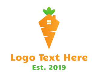 Onion - Carrot House logo design
