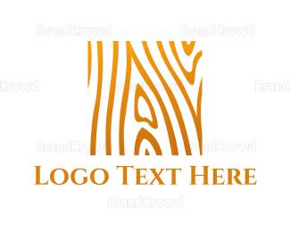 Carpenter - Wood Texture logo design