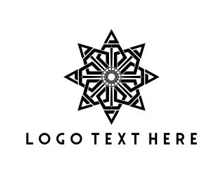 Gothic - Black Star logo design