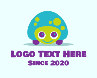 Tortoise - Colorful Tortoise Mascot logo design