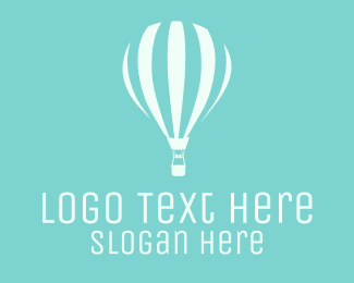 Vintage - Hot Air Balloon logo design