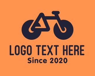 Bike - Modern Geometric Bike logo design