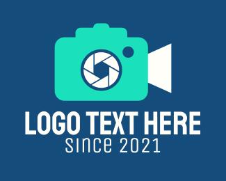 Videographer - Colorful Shutter Camera logo design