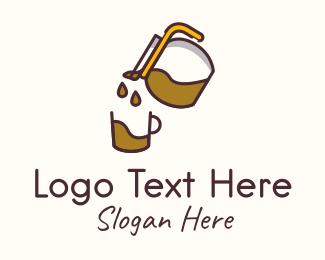 Pitcher - Coffee Maker logo design