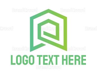 Broker -  Labyrinth House logo design