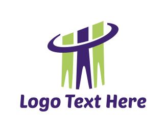 Consultant - Human Chart logo design