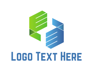 Agreement - Dealing Hands logo design