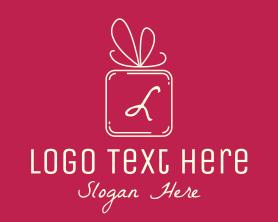 Holiday - Holiday Gift Lettermark logo design