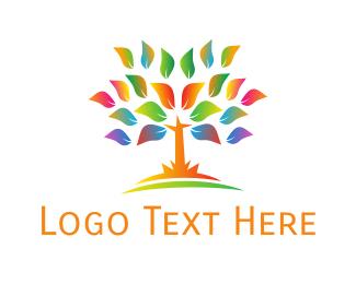 Primary School - Neon Tree logo design