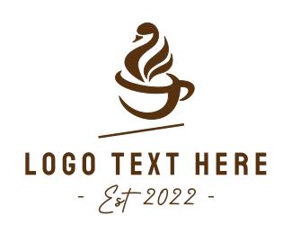 Swan - Swan Coffee logo design