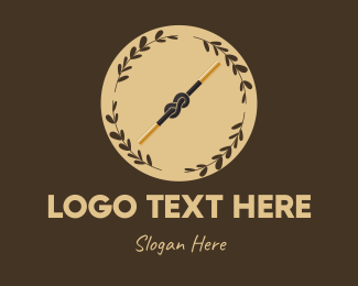 Illusion - Magic Knot logo design