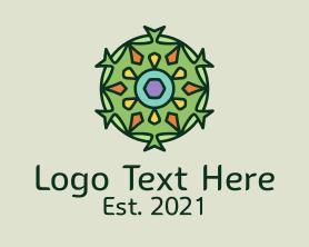 Interior - Kaleidoscope Interior Decor logo design