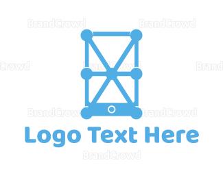 Connection - Phone Connection logo design