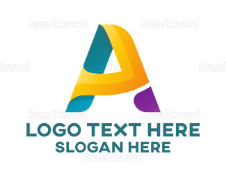 Adrenaline - Modern Letter A logo design