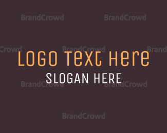 Chocolate - Brown Wordmark logo design