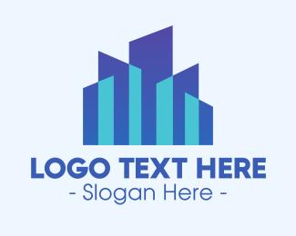 Stock - Stock Market City logo design