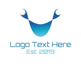 Crab - Tech Face logo design