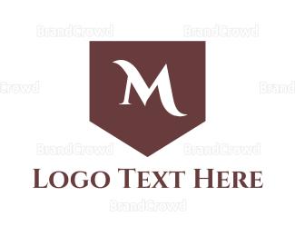 Dinnerware - Classic M Shield logo design