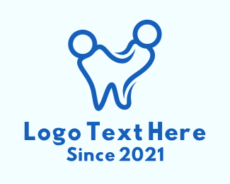 Dental Care - Blue Dental Clinic  logo design