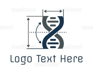 Gene - Gene Metrics logo design