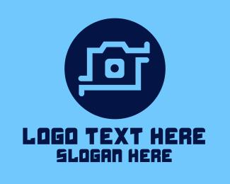 Instagram - High Tech Camera logo design