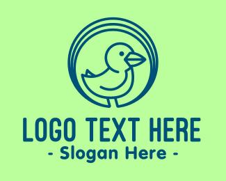 Little - Simple Little Duck logo design